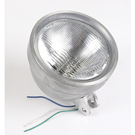 "Drag Specialties Die-Cast 5-3/4"" Headlight Assembly - Drag Specialties Wave Headlight Assembly"