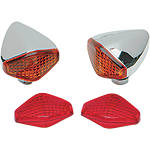 Drag Specialties Diamond Lights - Drag Specialties Cruiser Products