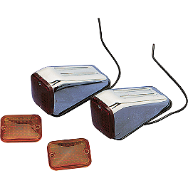 Drag Specialties Fm1 Marker Lights - Drag Specialties Fm1 Marker Light Replacement Lens
