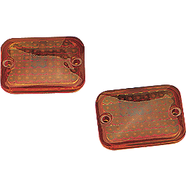 Drag Specialties Fm1 Marker Light Replacement Lens - Drag Specialties Mirror Adapter For Yamaha - Right