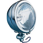 "Drag Specialties Late-Style 4-1/2"" Halogen Spotlamp - Drag Specialties Cruiser Lighting"