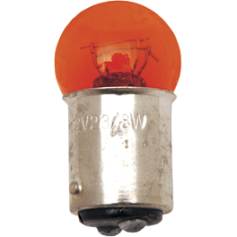 Drag Specialties Mini Deuce Replacement Bulbs - Drag Specialties Teardrop Short-Stem Mirror