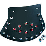 Drag Specialties Studded Mudflap With Diamond Center - Drag Specialties Cruiser Products