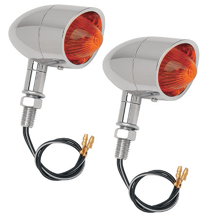 Drag Specialties Mini Retro-Style Marker Lights - Main