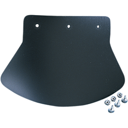 Drag Specialties Rubber Plain Mudflap - Show Chrome Foam Lever Grip