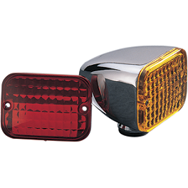 Drag Specialties Baron Marker Light - Biker's Choice Replacement Lens For Custom Marker Lamp
