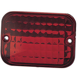 Drag Specialties Baron Marker Light Replacement Lens - Baron Custom Marker Light Mounts - Flat