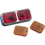 Drag Specialties Baron Twin Marker Light - Drag Specialties Cruiser Products