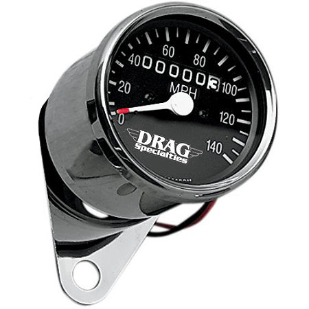 Drag Specialties Mini Speedometer With 2:1 Ratio - Main
