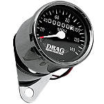 Drag Specialties Mini Speedometer With 2:1 Ratio - Drag Specialties Cruiser Products