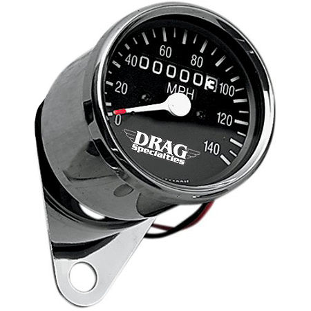 Drag Specialties Mini Speedometer With 2240:60 Ratio - Main
