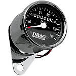 Drag Specialties Mini Speedometer With 2240:60 Ratio - Drag Specialties Dirt Bike Products