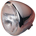 "Drag Specialties Custom 5-3/4"" Springer Style Headlight - Drag Specialties Cruiser Products"