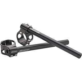 Driven Racing Riser Style Adjustable Clip-Ons - 50mm - 2002 Ducati Monster 620S I.E. Powerstands Racing Clip-Ons