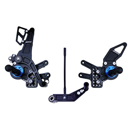 Driven Racing D-Axis Rearset - Black - Main