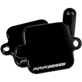 Driven Racing Engine Block Off Plates - 2010 Honda CBR600RR Powerstands Racing Air Injection Block Off Plate