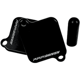 Driven Racing Engine Block Off Plates - 2010 Yamaha FZ1 - FZS1000 Powerstands Racing Air Injection Block Off Plate