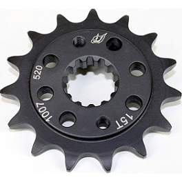Driven Racing Front Sprocket - 520 - 2002 Honda CBR600F4I Driven Racing Clip-Ons - 43mm