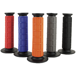 Driven Racing Full Waffle Grips - Driven Racing Clip-Ons - 43mm