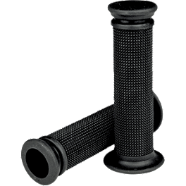 Driven Racing Grippy Thin Race Grips - Driven Racing D-Axis Swingarm Spools - 6mm