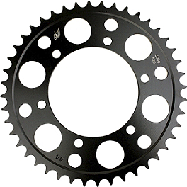 Driven Racing Rear Sprocket - 520 - 2002 Honda CBR600F4I Driven Racing Clip-Ons - 43mm