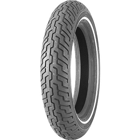 Dunlop Harley Davidson D402 Narrow White Stripe Front Tire - MT90-16B - Main