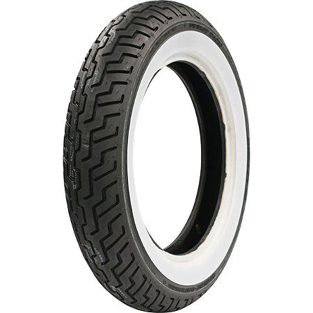 Dunlop Harley Davidson D402 Front Tire - MT90-16B Wide Whitewall - Main