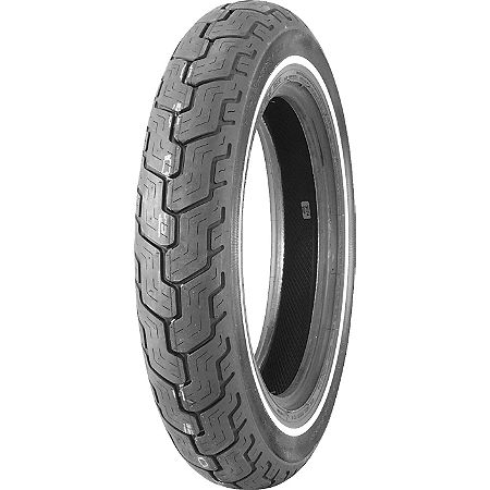 Dunlop Harley Davidson D402 Slim Whitewall Rear Tire - MT90-16B - Main