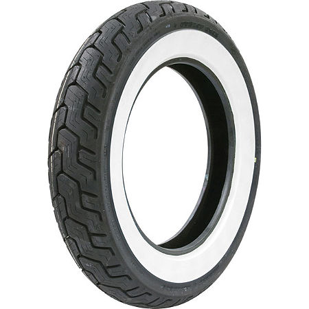 Dunlop Harley Davidson D402 Rear Tire - MT90-16B Wide Whitewall - Main