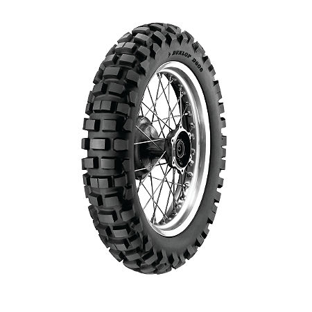 Dunlop D606 Rear Tire - 120/90-18 - Main