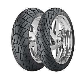 Dunlop D616 Tire Combo - Dunlop Trailmax TR91 Rear Tire - 130/80-17