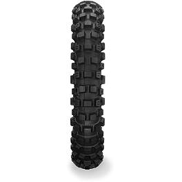 Dunlop D745 Rear Tire - 110/80-19 - 2010 Yamaha YZ125 Dunlop D803 Front Trials Tire - 2.75-21