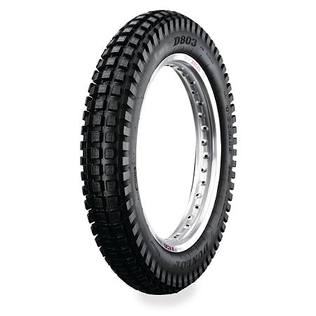 Dunlop D803 Rear Trials Tire - 4.00-18 - Main