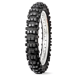 Dunlop D952 Rear Tire - 110/90-19 - 2004 Yamaha YZ250 Dunlop D803 Front Trials Tire - 2.75-21