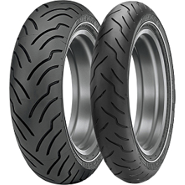 Dunlop American Elite Whitewall Combo - Dunlop Elite 3 Radial Touring Rear Tire - 200/50R18