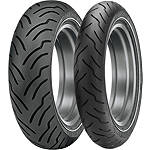 Dunlop American Elite Whitewall Combo - Dunlop Motorcycle Tires and Wheels