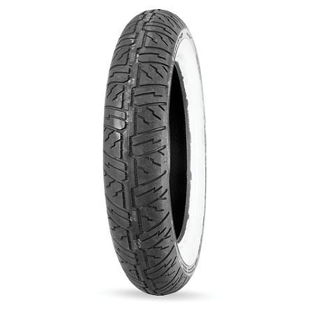 Dunlop Cruisemax Front Tire - 130/90-16 Wide Whitewall - Main