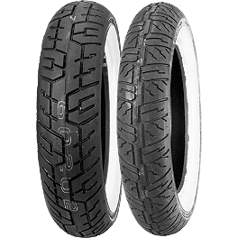 Dunlop Cruisemax Tire Combo - Dunlop D404 Front Tire - 140/80-17 Wide Whitewall