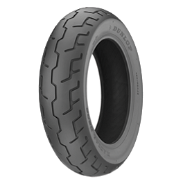 Dunlop D206 Rear Tire - 170/70R16 - Dunlop Elite 3 Bias Touring Front Tire - Mm90-19