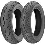 Dunlop D206 Tire Combo - Dunlop Motorcycle Tires and Wheels