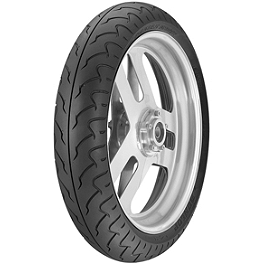Dunlop D208 Front Tire - 120/70ZR19 - Dunlop D404 Wide Whitewall Tire Combo