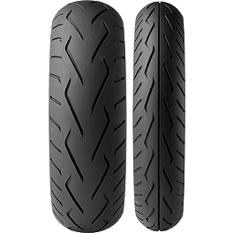 Dunlop D250 Tire Combo - Dunlop Elite 3 Touring Rear Tire - 160/80-16B