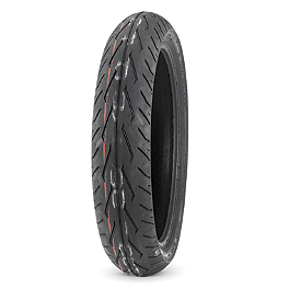 Dunlop D251 Front Tire - 150/80R16 - Dunlop Harley Davidson D402 Rear Tire - MT90-16B Wide Whitewall