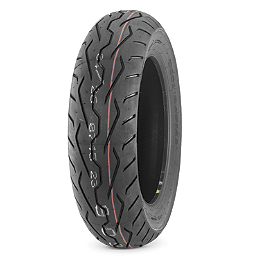 Dunlop D251 Rear Tire - 180/55R17 - Dunlop Tube MH90-21 Straight Metal Stem