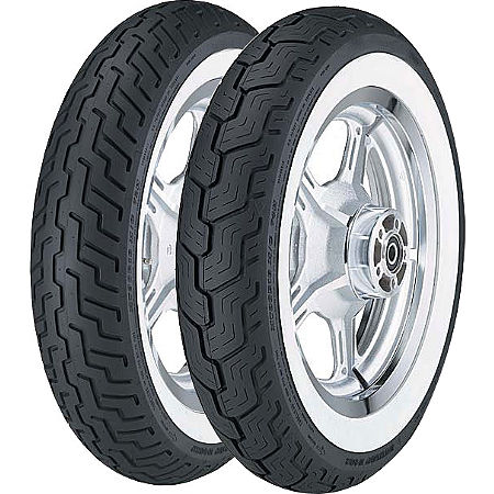 Dunlop D404 Wide Whitewall Tire Combo - Main