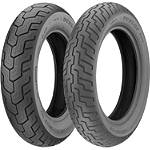 Dunlop D404 Tire Combo - Dunlop Motorcycle Tires and Wheels