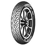 Dunlop 491 Elite II Raised White Letter Front Tire - MM90-19 - Dunlop MM90-19 Cruiser Tires and Wheels