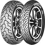 Dunlop 491 Elite II Tire Combo -  Motorcycle Tires and Wheels