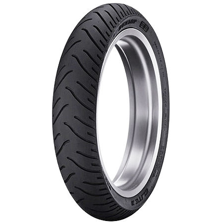 Dunlop Elite 3 Bias Touring Front Tire - Mr90-18 - Main