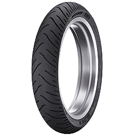 Dunlop Elite 3 Bias Touring Front Tire - Mm90-19 - Dunlop K555 Rear Tire - 170/80-15 Wide Whitewall